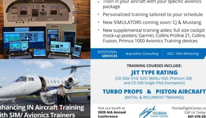 Enhancing IN Aircraft Training with Simulator